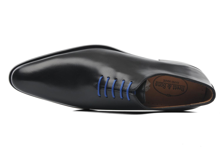 Zapatos con cordones Brett & Sons Côme Negro vista lateral izquierda