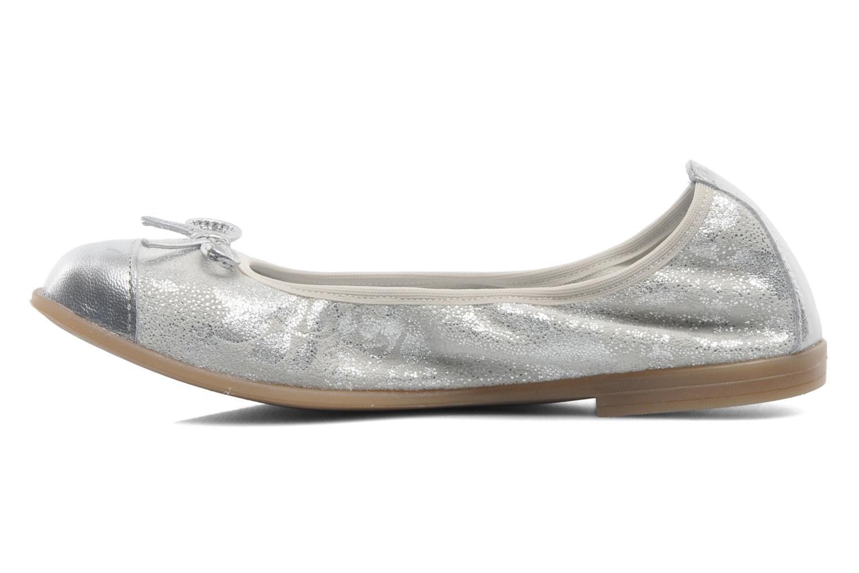 Ballerinaer Bopy SARABEL Sølv se forfra