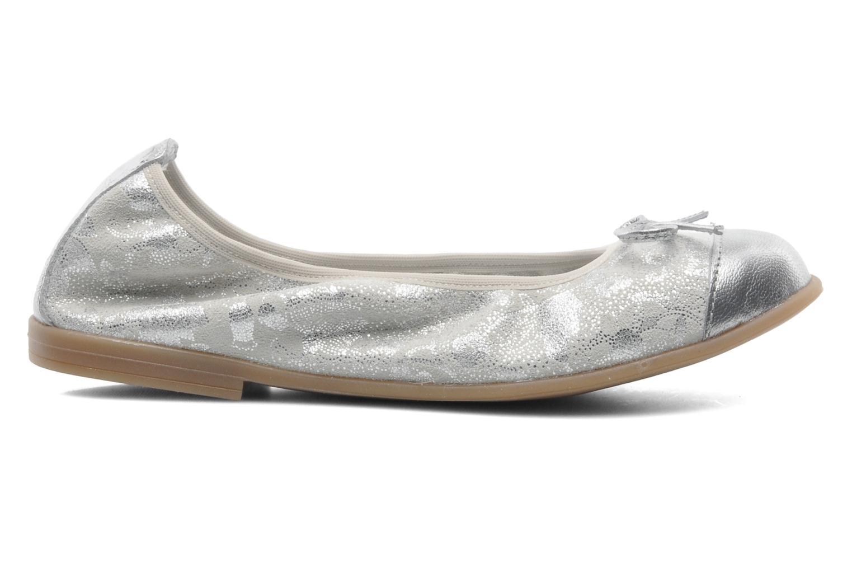 Ballerinaer Bopy SARABEL Sølv se bagfra