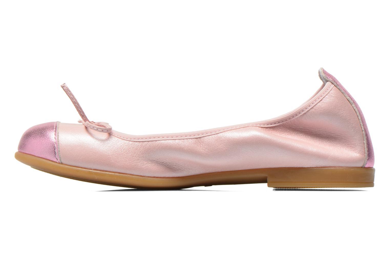 Ballerinas Bopy SOLFEGE rosa ansicht von vorne
