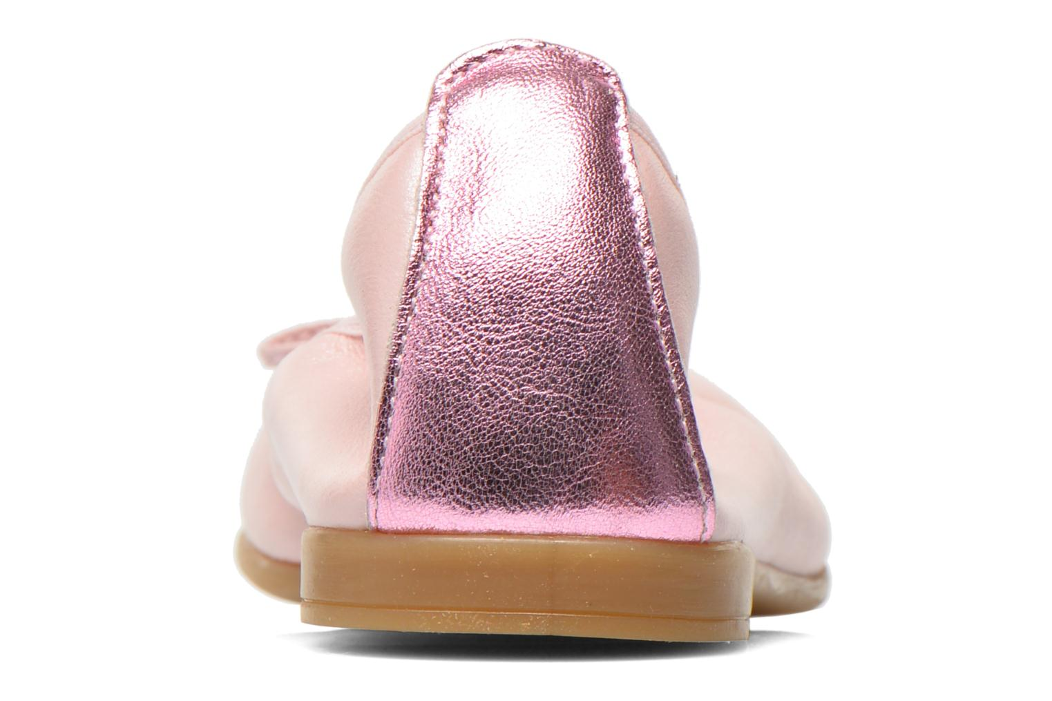 Ballet pumps Bopy SOLFEGE Pink view from the right