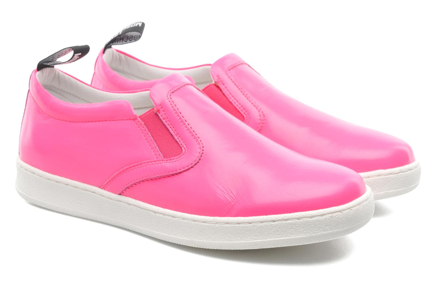 Sneakers Love Moschino Love Tasha Rosa 3/4 bild