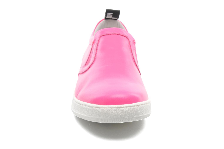 Sneaker Love Moschino Love Tasha rosa schuhe getragen