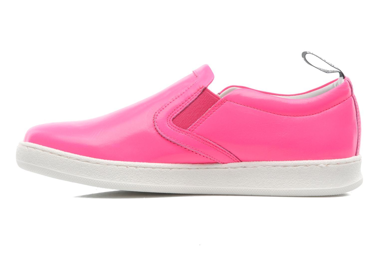 Sneaker Love Moschino Love Tasha rosa ansicht von vorne