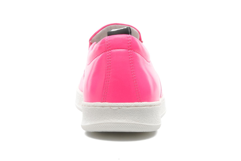 Sneakers Love Moschino Love Tasha Rosa Bild från höger sidan