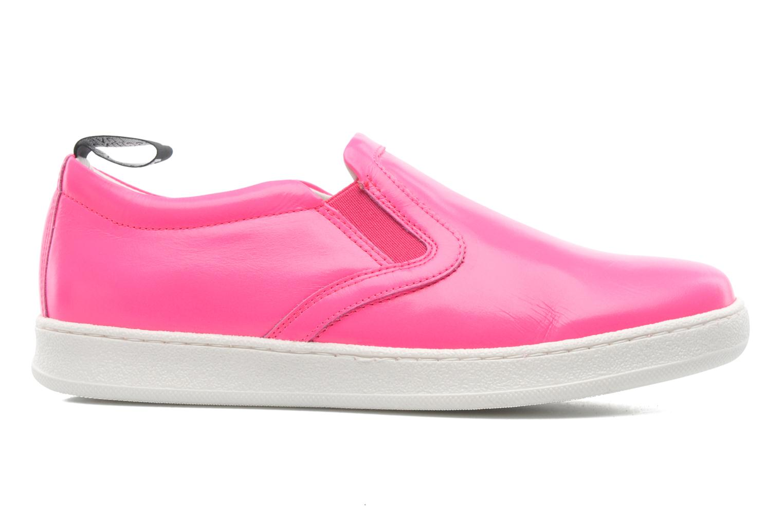 Sneaker Love Moschino Love Tasha rosa ansicht von hinten