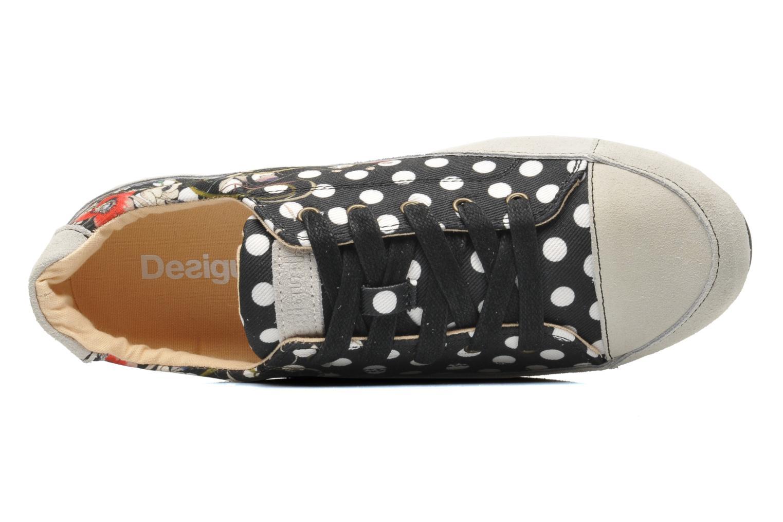 Sneaker Desigual Castilla New mehrfarbig ansicht von links