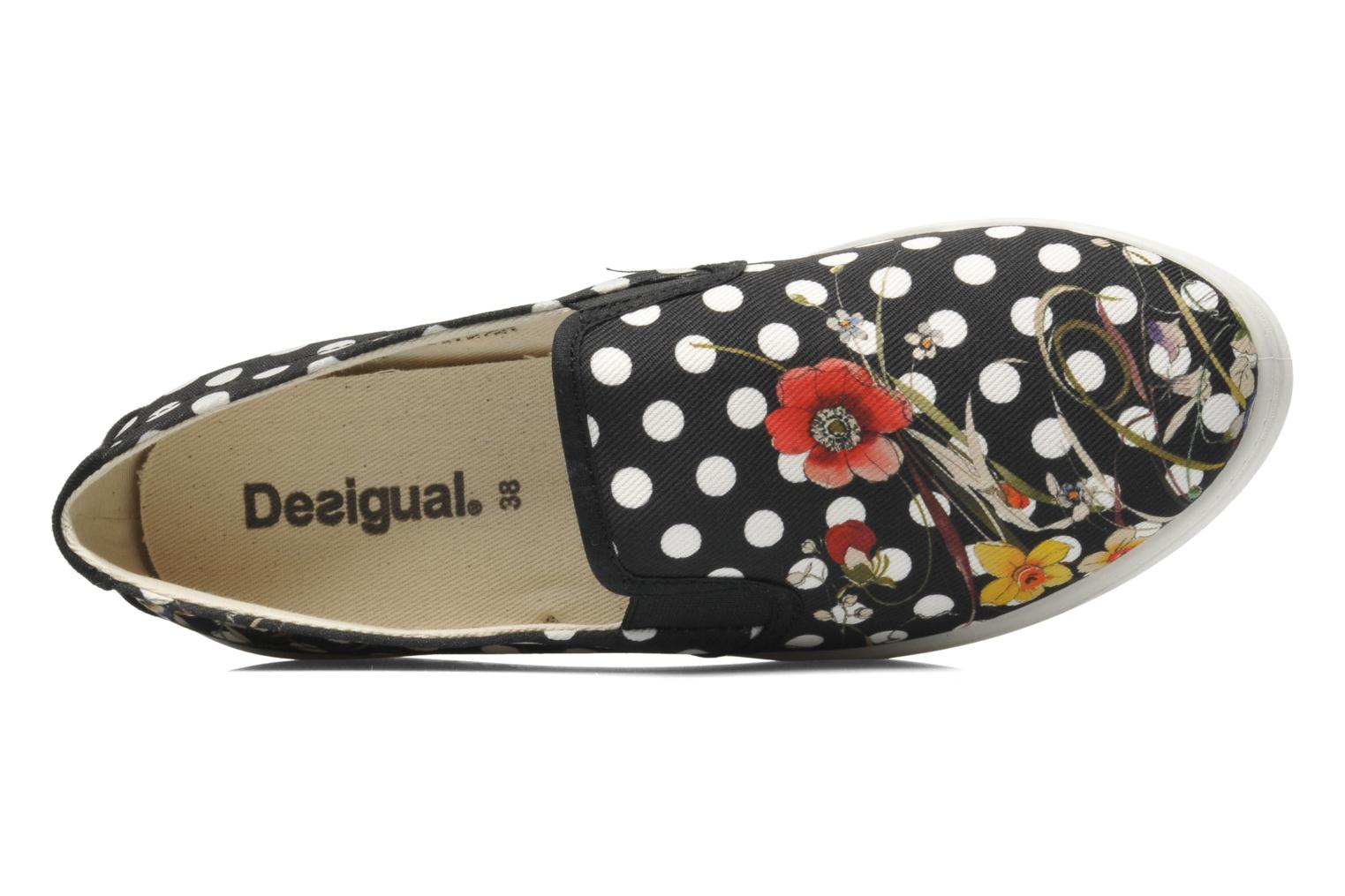 Trainers Desigual Camilla Multicolor view from the left