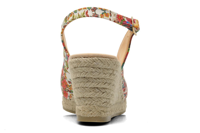 Sandali e scarpe aperte Desigual Lila Multicolore immagine destra