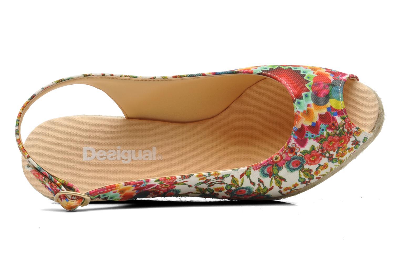 Sandali e scarpe aperte Desigual Lila Multicolore immagine sinistra