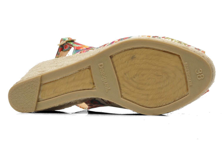 Sandali e scarpe aperte Desigual Lila Multicolore immagine dall'alto