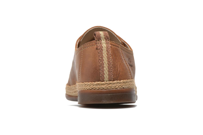 Chaussures à lacets Fluchos Trulli 7868 Marron vue droite