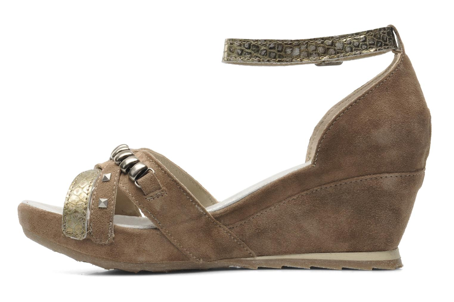 Sandals Khrio Lou N Brown front view