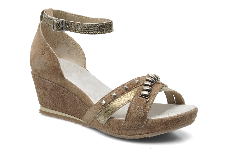 Sandales et nu-pieds Khrio Lou N Marron vue détail/paire