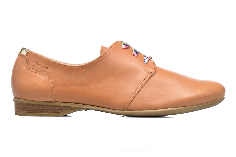 Zapatos con cordones Dorking Candy 5058 Marrón vistra trasera