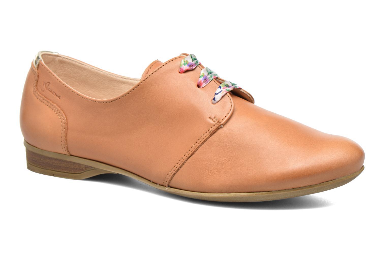 Zapatos con cordones Dorking Candy 5058 Marrón vista de detalle / par