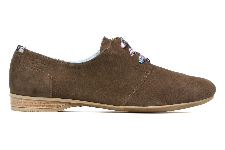Chaussures à lacets Dorking Candy 5058 Vert vue derrière