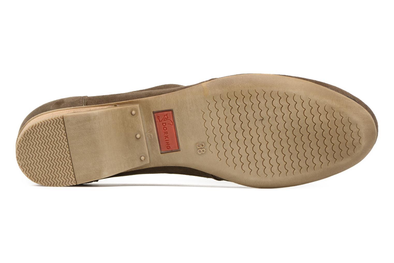 Chaussures à lacets Dorking Candy 5058 Vert vue haut