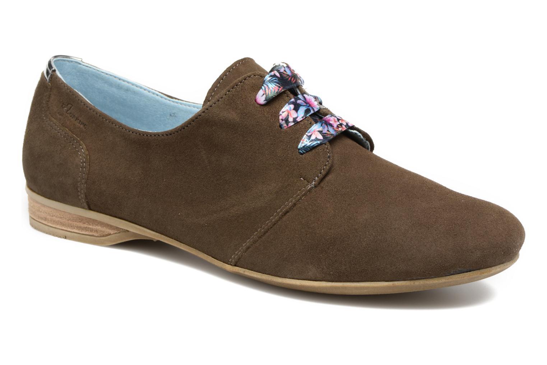 Chaussures à lacets Dorking Candy 5058 Vert vue détail/paire