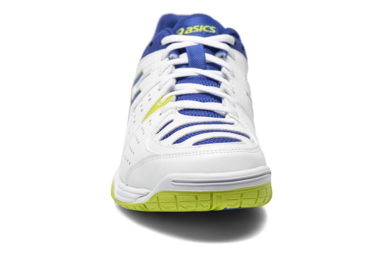 Gel-Dedicate 4 White/Asics Blue/Lime