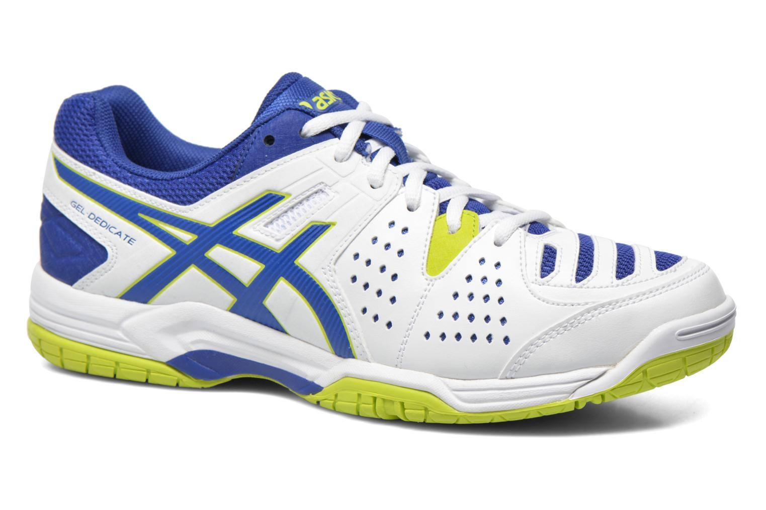 Sport shoes Asics Gel-Dedicate 4 White detailed view/ Pair view