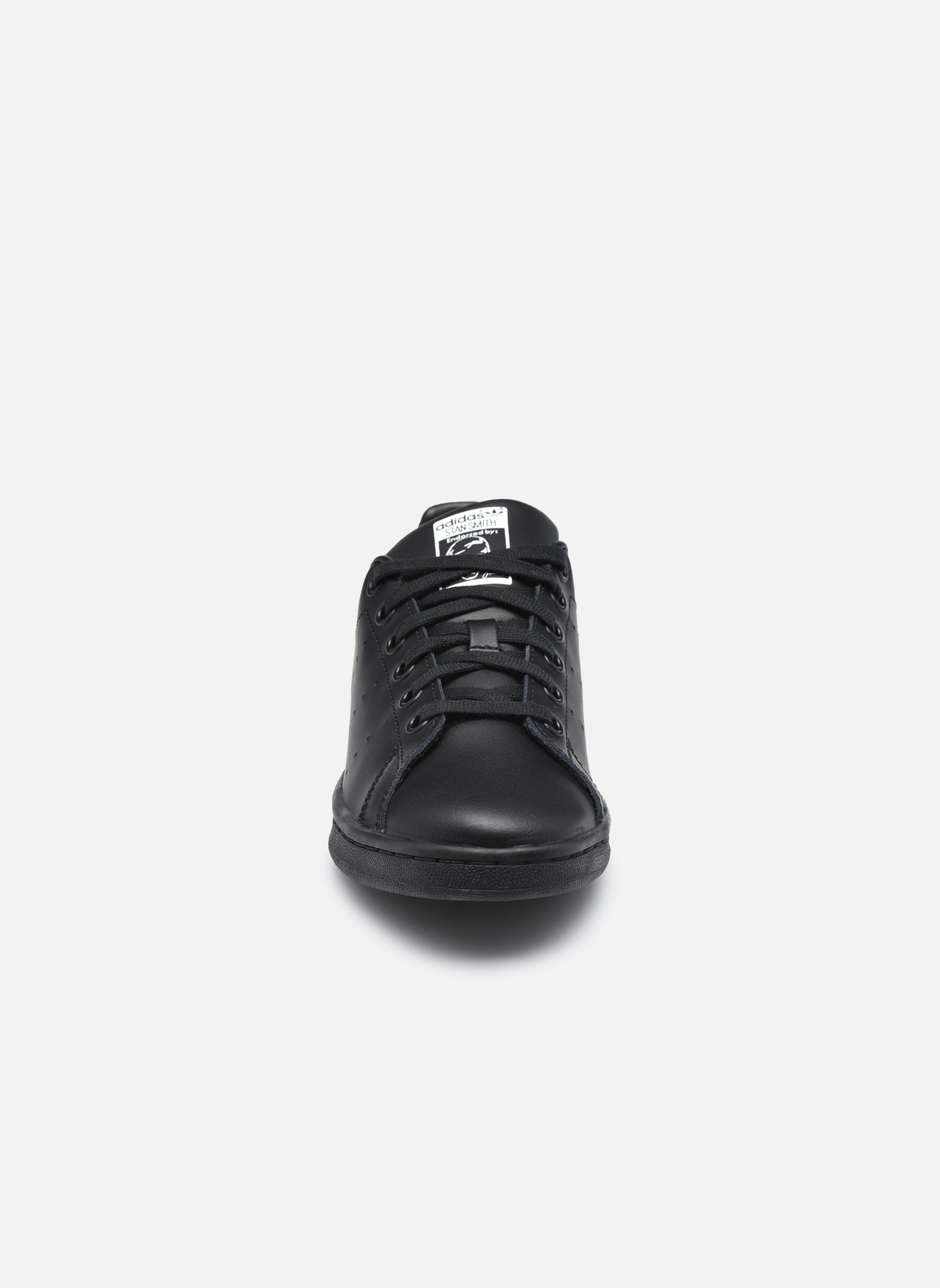 Trainers Adidas Originals STAN SMITH J Black model view