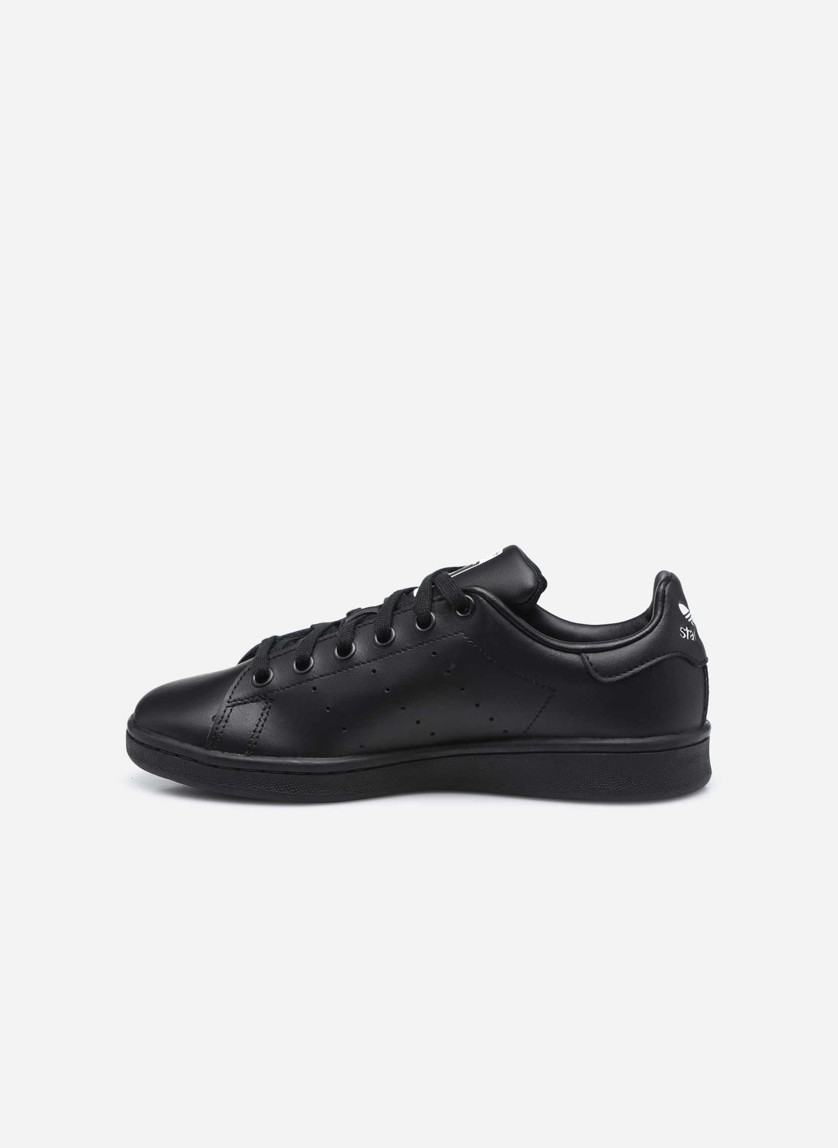 Trainers Adidas Originals STAN SMITH J Black front view
