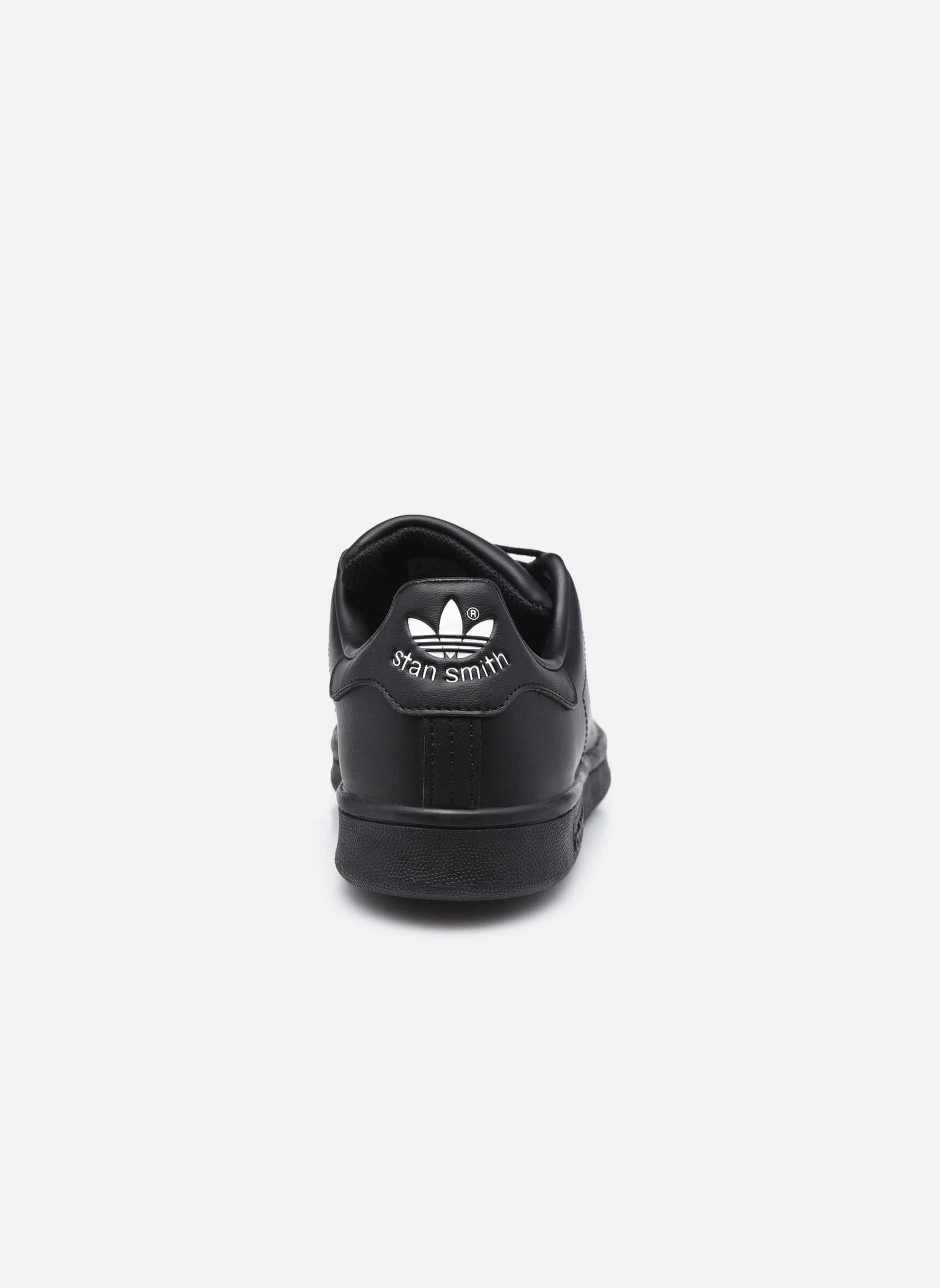 Trainers Adidas Originals STAN SMITH J Black view from the right