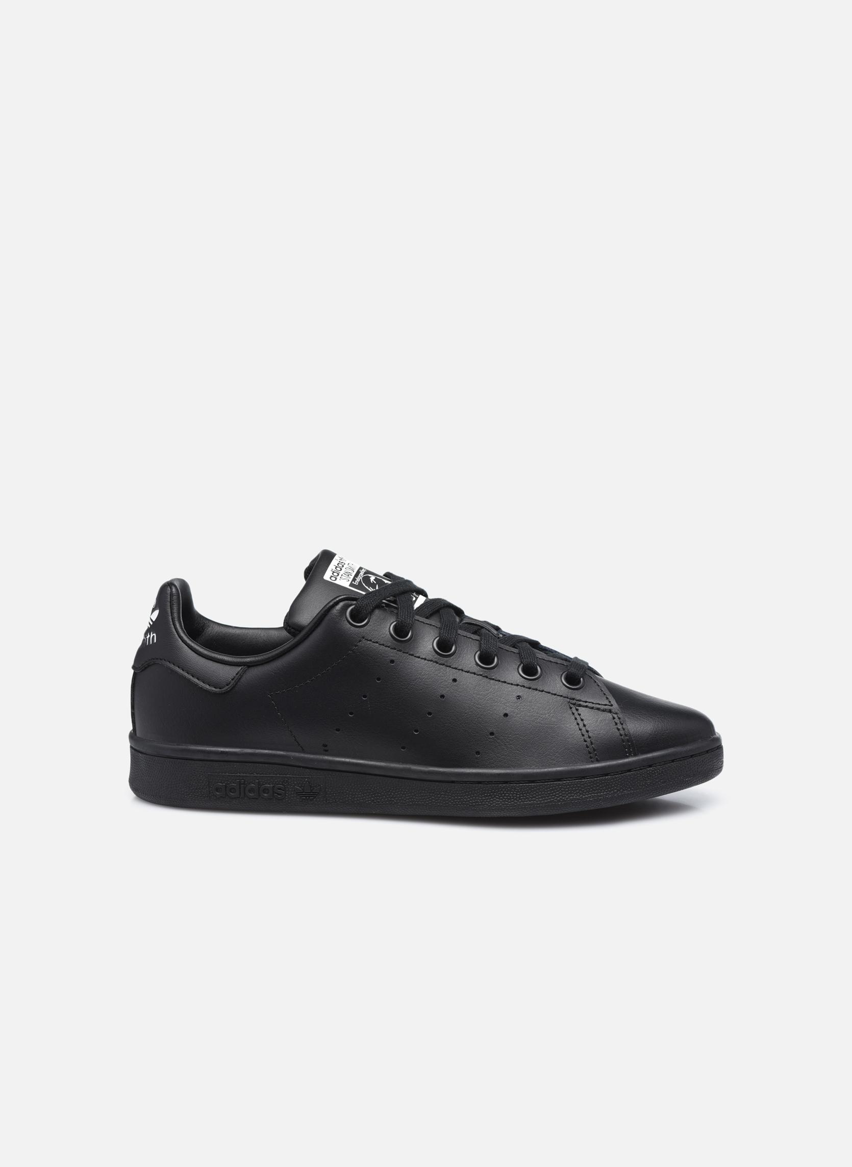 Baskets Adidas Originals STAN SMITH J Noir vue derrière