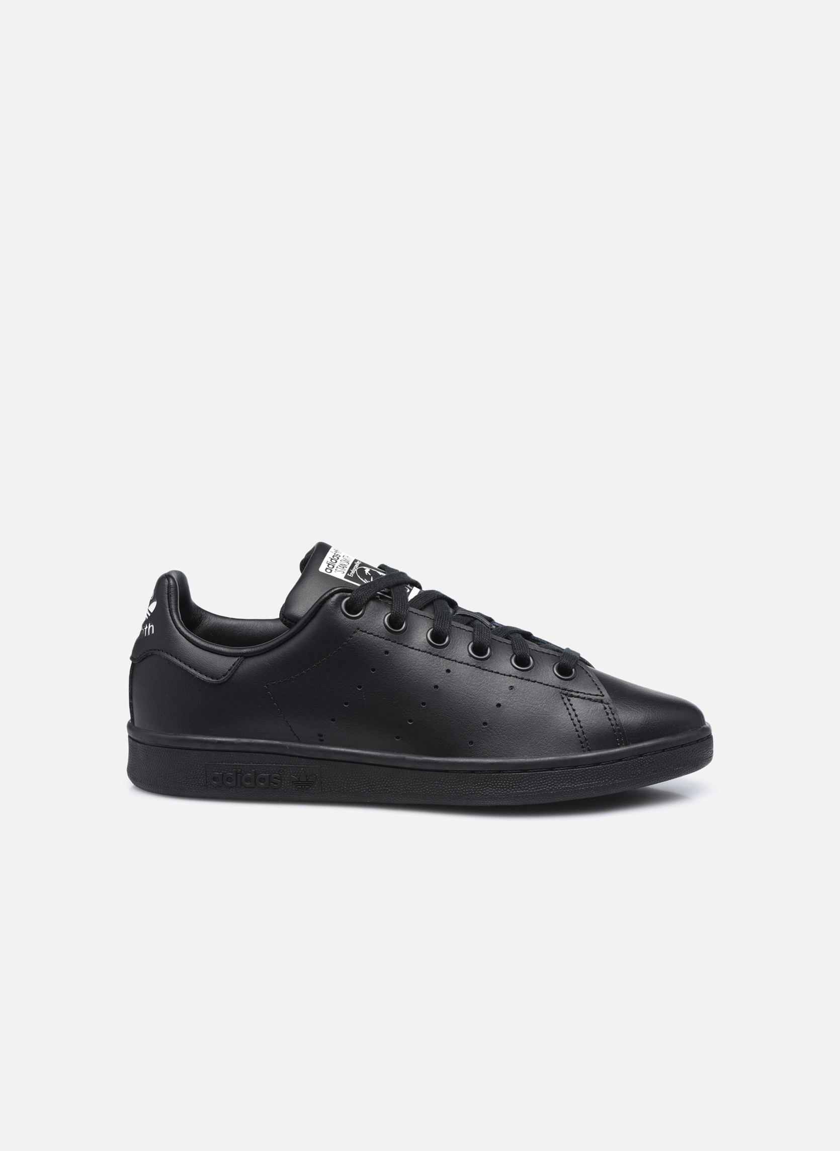 Trainers Adidas Originals STAN SMITH J Black back view
