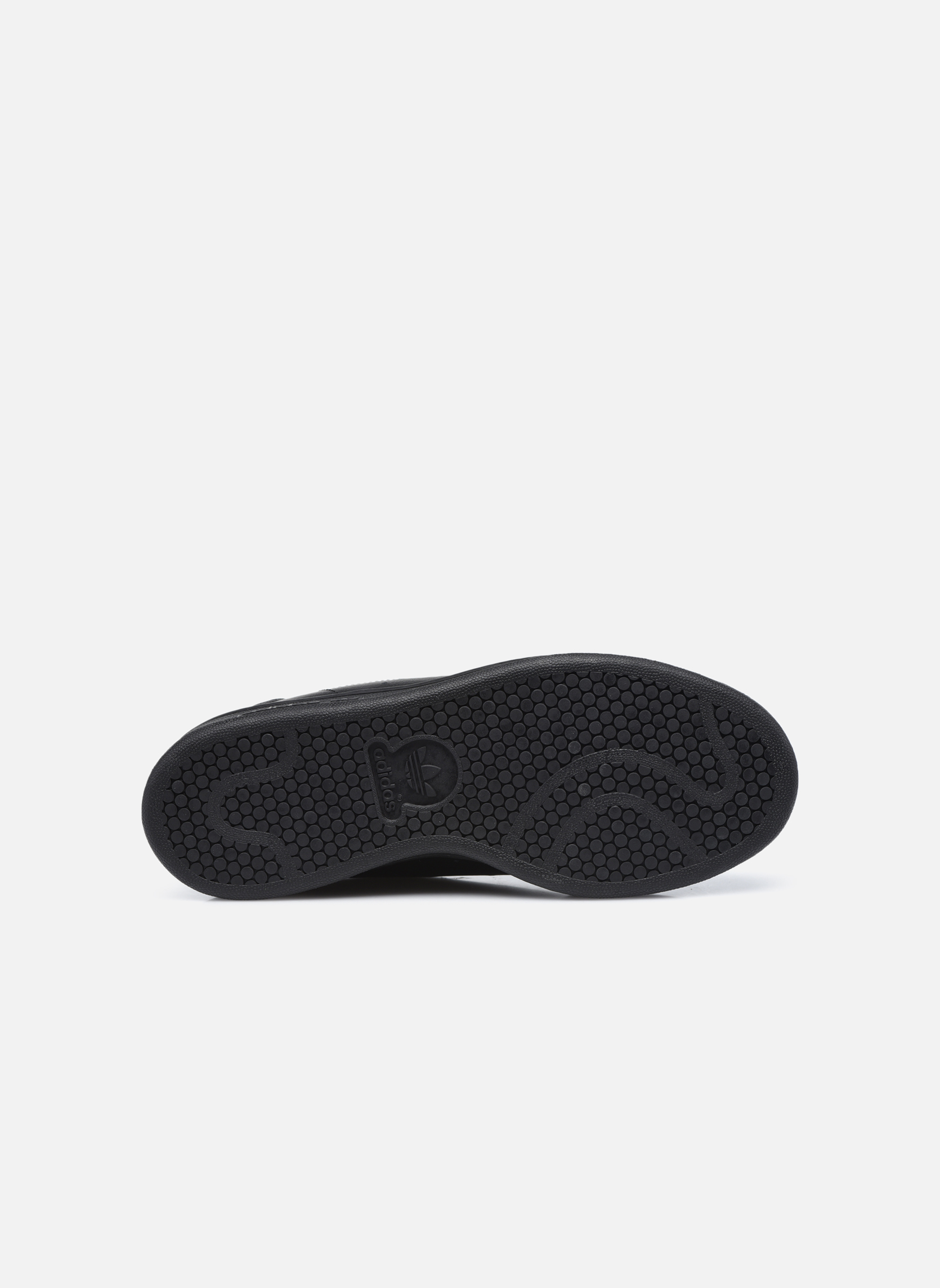 Baskets Adidas Originals STAN SMITH J Noir vue haut