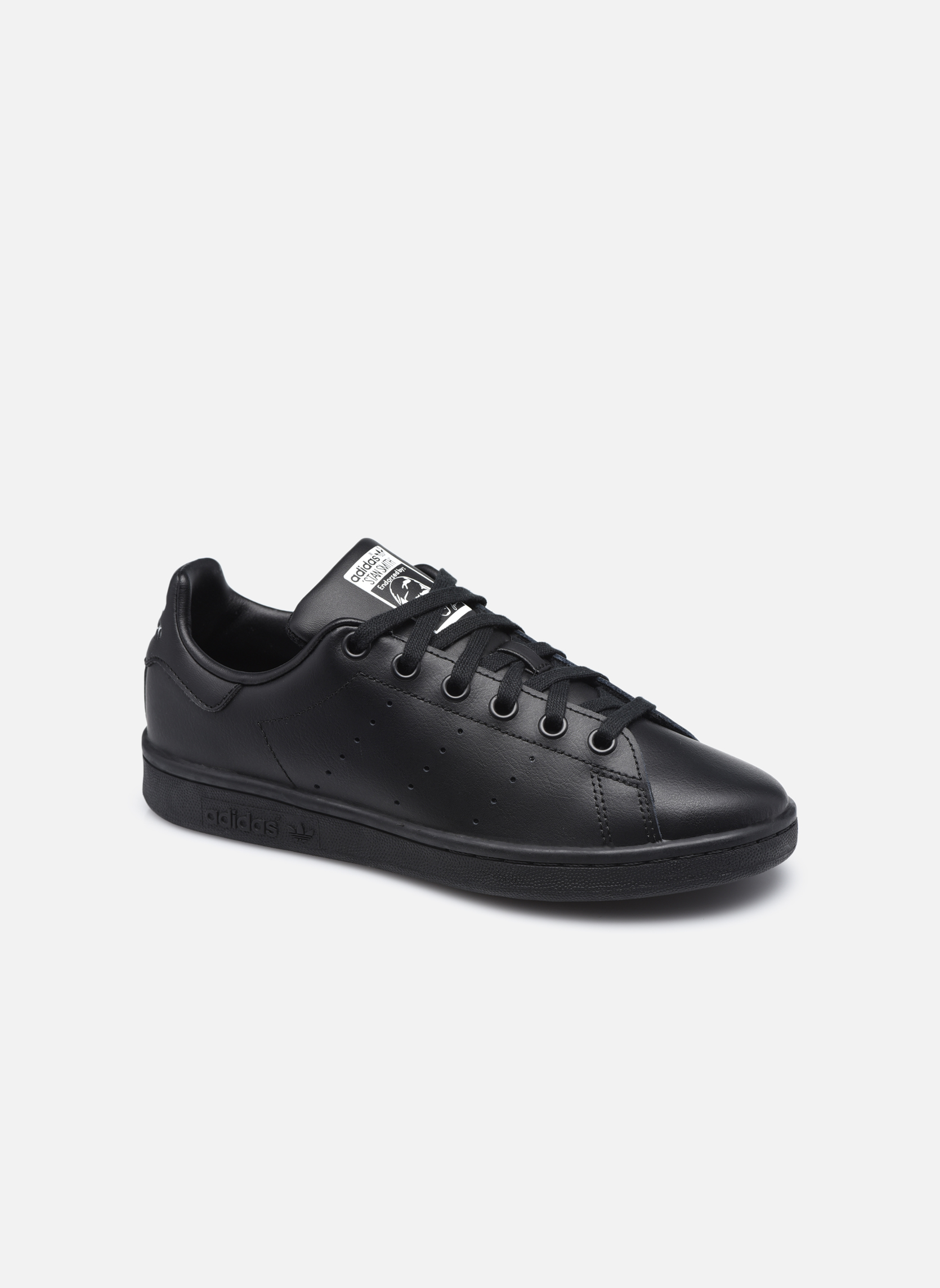 Trainers Adidas Originals STAN SMITH J Black detailed view/ Pair view
