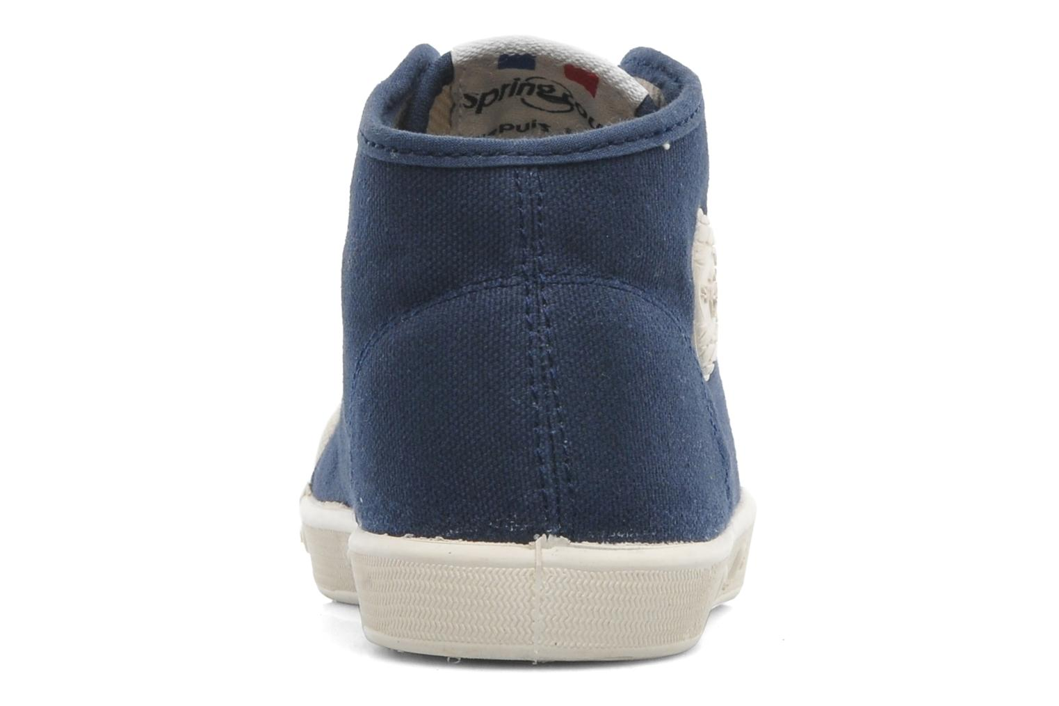Trainers Spring Court BE1 Classic Blue view from the right