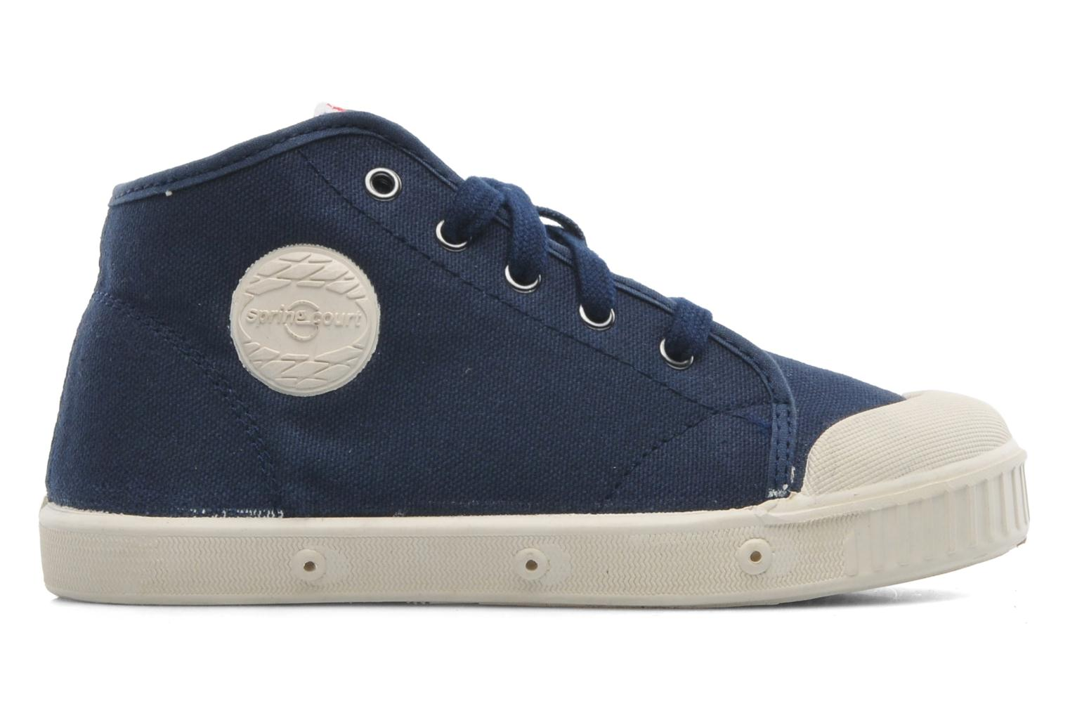 Sneakers Spring Court BE1 Classic Blauw achterkant