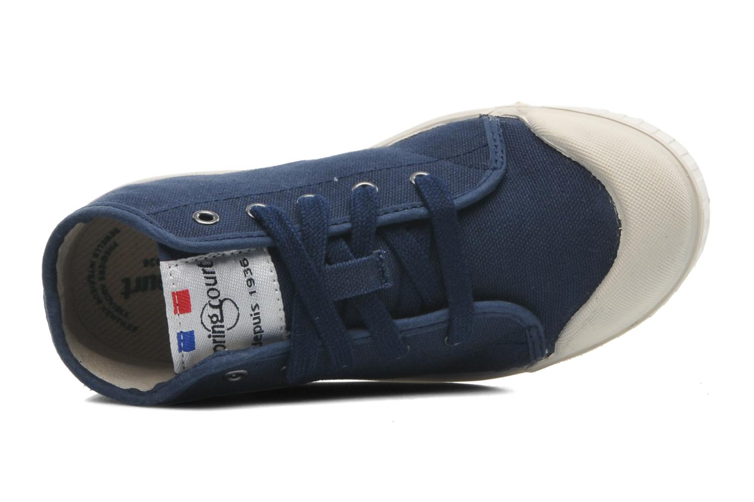 Sneakers Spring Court BE1 Classic Azzurro immagine sinistra