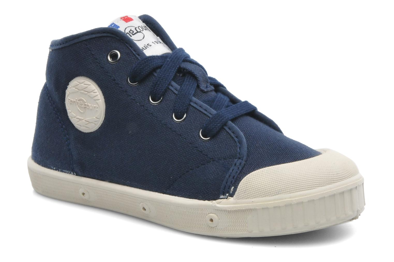 Trainers Spring Court BE1 Classic Blue detailed view/ Pair view