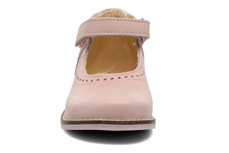 Ballet pumps Babybotte Servane Pink model view
