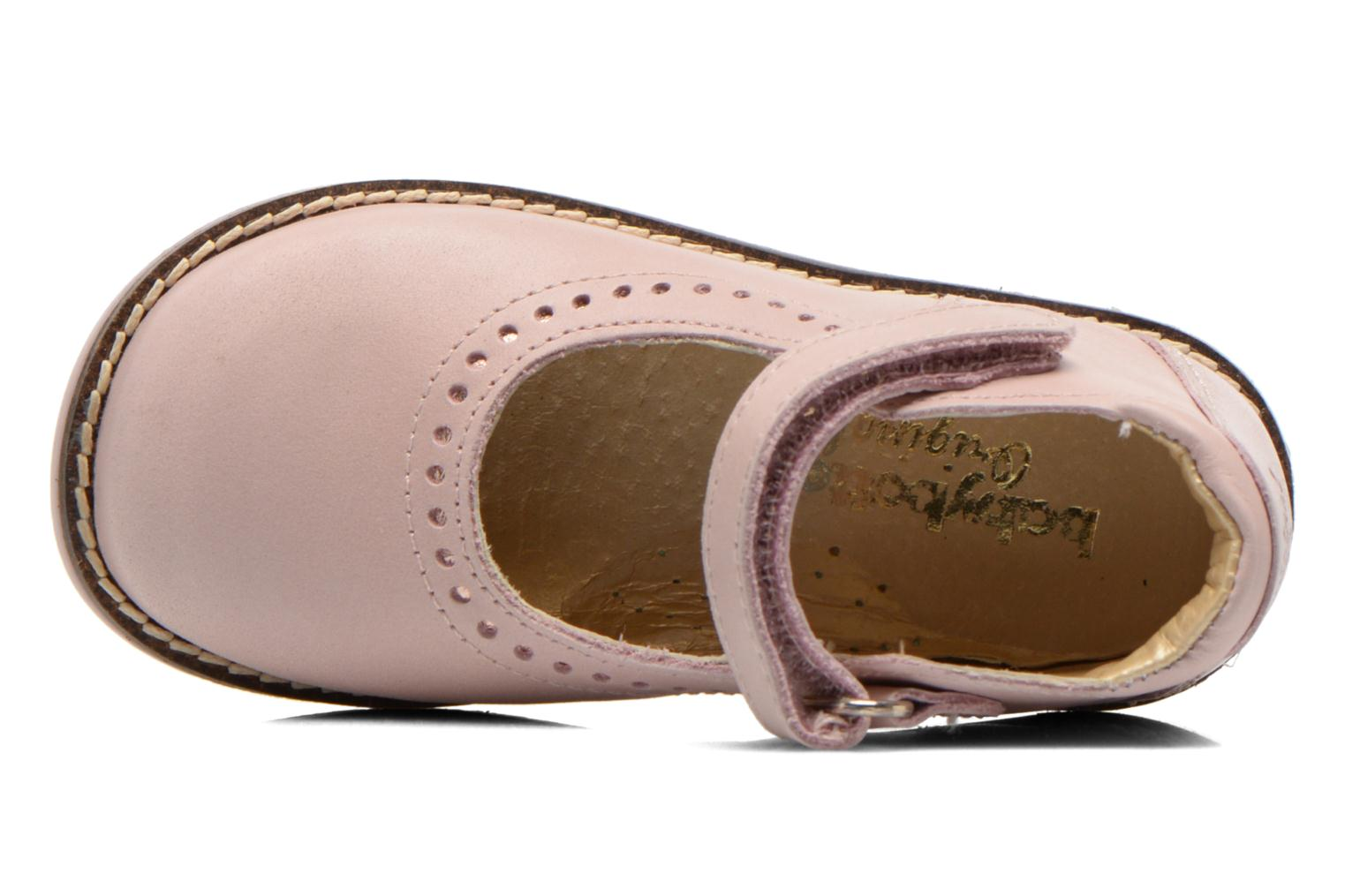 Ballet pumps Babybotte Servane Pink view from the left