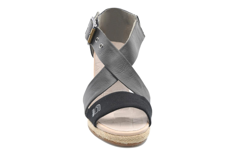 Sandaler G-Star Aria Wedge Salon Strap Grå bild av skorna på
