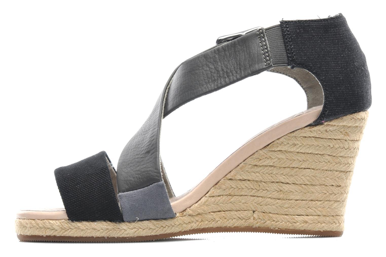 Sandali e scarpe aperte G-Star Aria Wedge Salon Strap Grigio immagine frontale