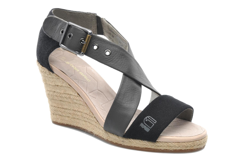 Sandals G-Star Aria Wedge Salon Strap Grey detailed view/ Pair view