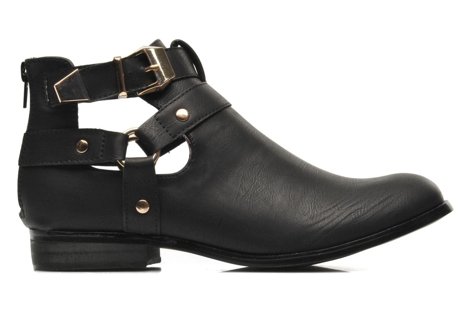 Ankle boots Divine Factory Akruks Black back view