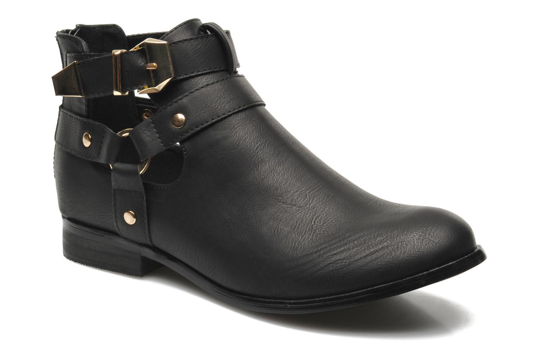 Grandes descuentos últimos zapatos Divine Factory Akruks (Negro) - Botines  Descuento