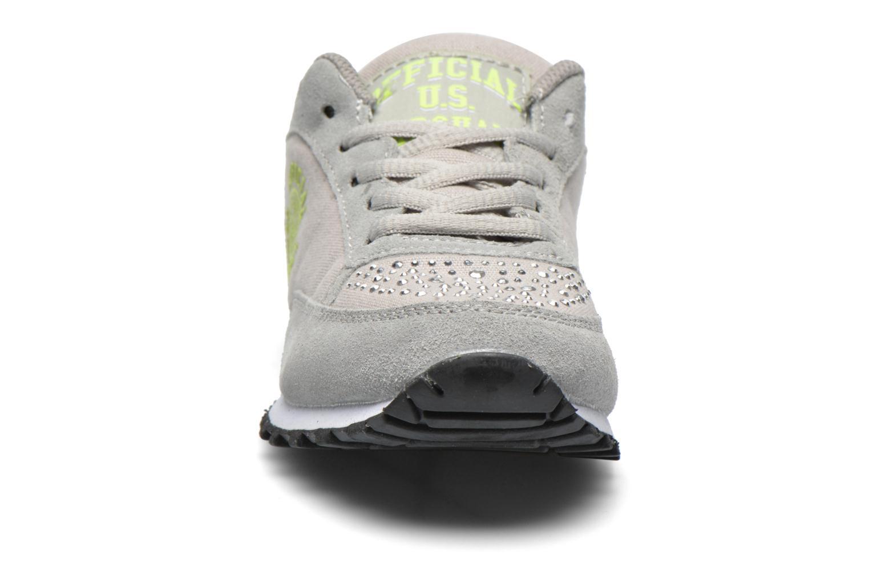 Sneakers US Marshall Dicky kids Grigio modello indossato