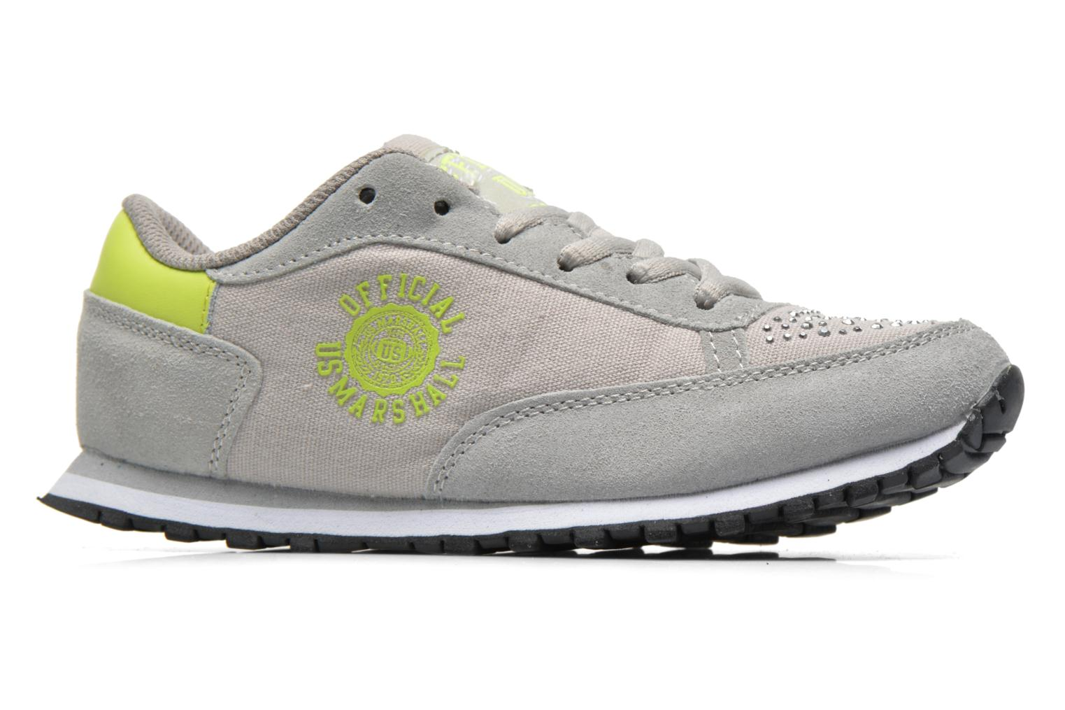 Trainers US Marshall Dicky kids Grey back view