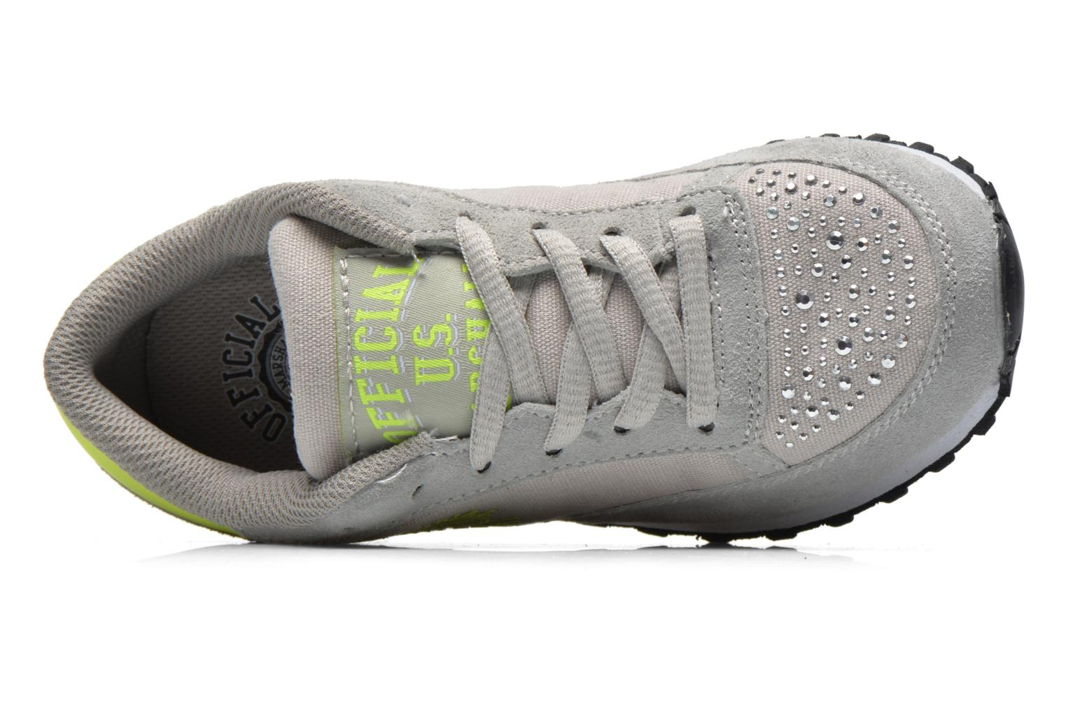 Baskets US Marshall Dicky kids Gris vue gauche