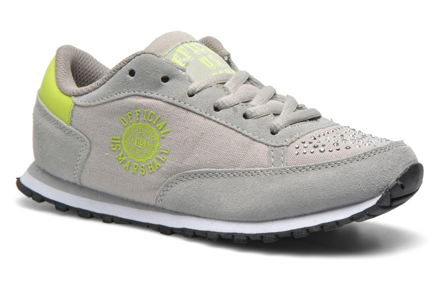 Trainers US Marshall Dicky kids Grey detailed view/ Pair view