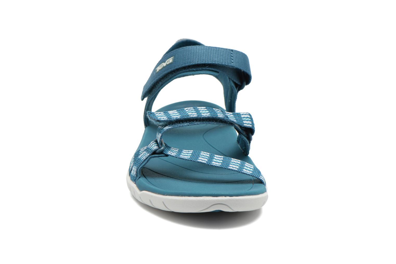 Sportschuhe Teva Verra W blau schuhe getragen
