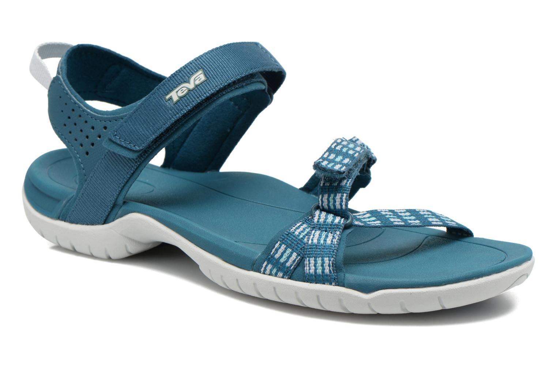 Sportschuhe Teva Verra W blau detaillierte ansicht/modell