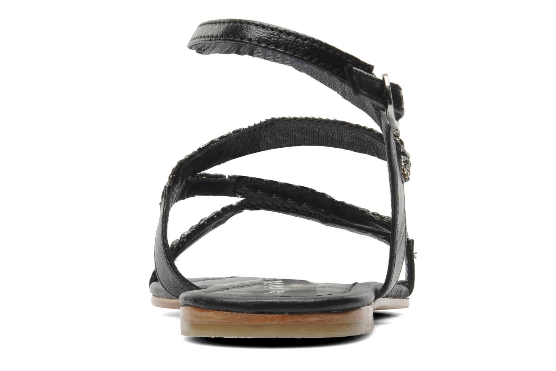 Sandales et nu-pieds Les Tropéziennes par M Belarbi Jolane Noir vue droite